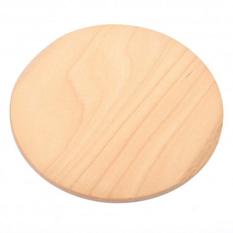 CHOPPING ROUND PLYWOOD BEECH (Finished with food processing)