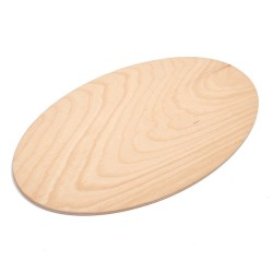 SERVIPIZZA OVAL PLYWOOD BEECH (Finished with food processing)
